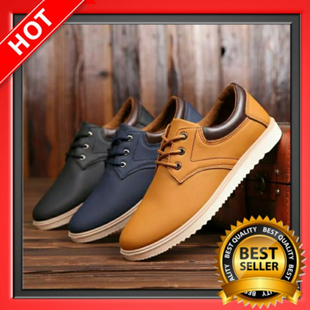 345b9b3b26ad 🔥 Men Formal Leather Lace Up Shoes Working Shoes