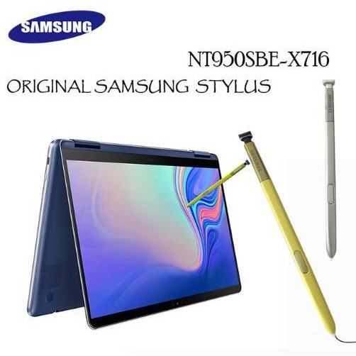 For Samsung Notebook 9 NT950SBE-X716 15 Pen Touch Stylus S Pen Blue Yellow