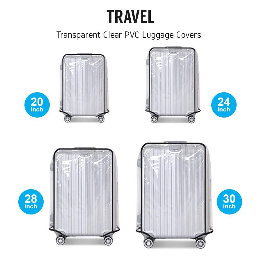 Travel Luggage Suitcase Cover Protector Pelancongan Ruang beg penutup pelindung | Shopee Malaysia