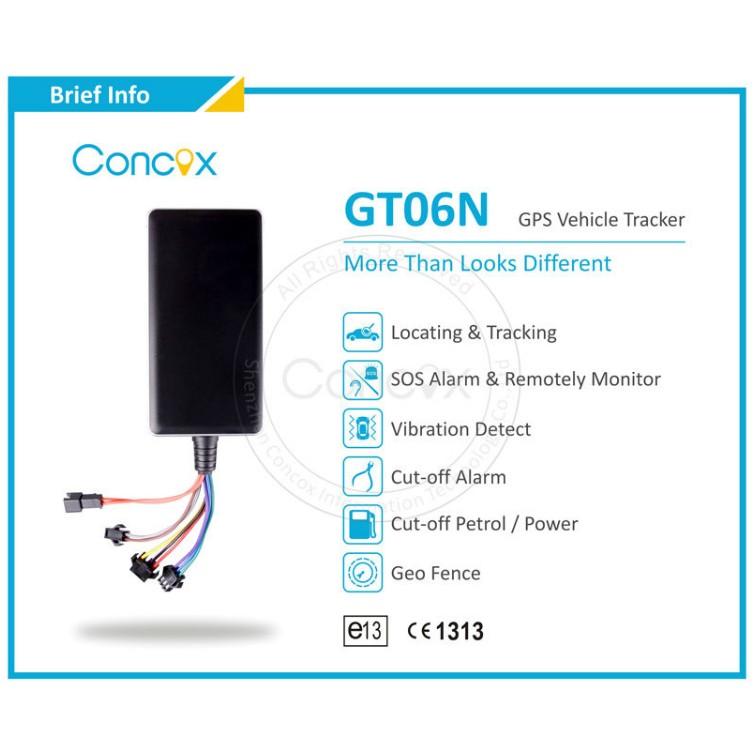 GT06N Car GPS Tracker Tracking Positioning alarm TK102 TK103