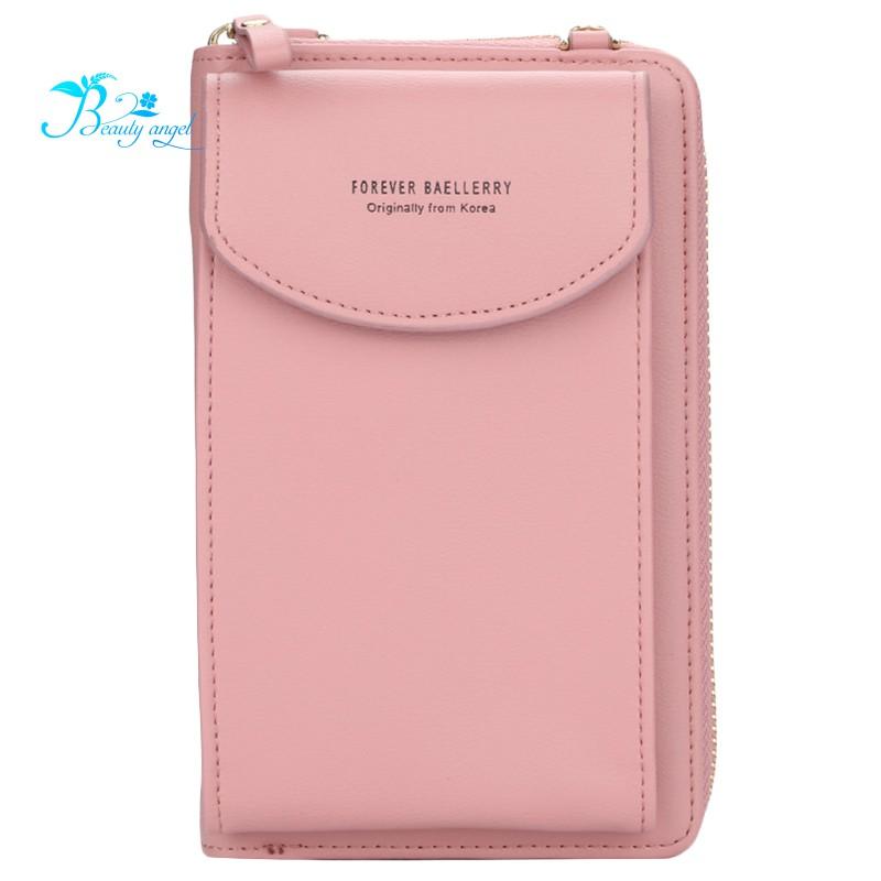Baellerry Women Brand Cell Phone Wallet Handbag Purse Clutch Messenger Shoulder Straps Bag