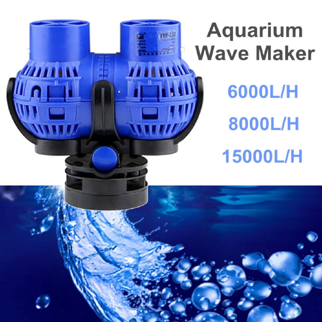 4000-15000L//H Aquarium Fish Tank 360 Water Wave Maker Pump Powerhead Magnet HOT
