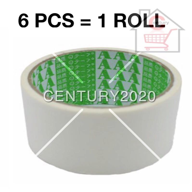 AAA Paper Masking Tape 48mm Colour Masking Tape Paper Masking Tape 6 PCS
