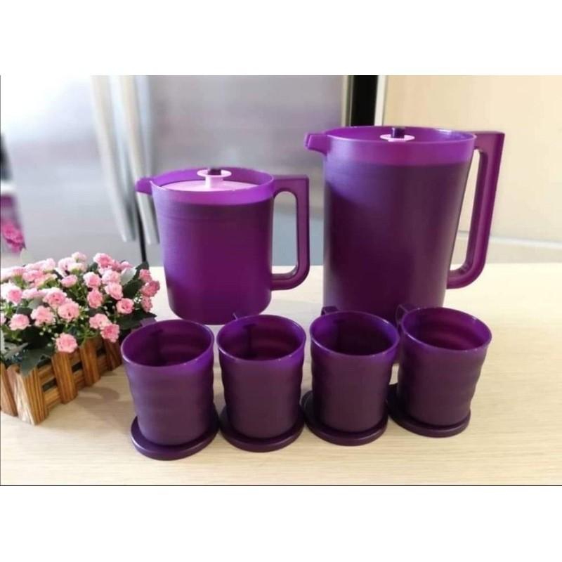 Tupperware Blossom Giant Pitcher 4.2L/ Blossom Pitcher 2L/ Blossom Pitcher 1.4L/ Mug