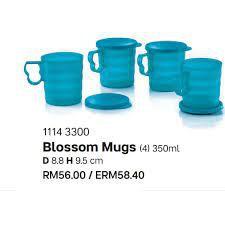 Tupperware Cressendo Mug Set