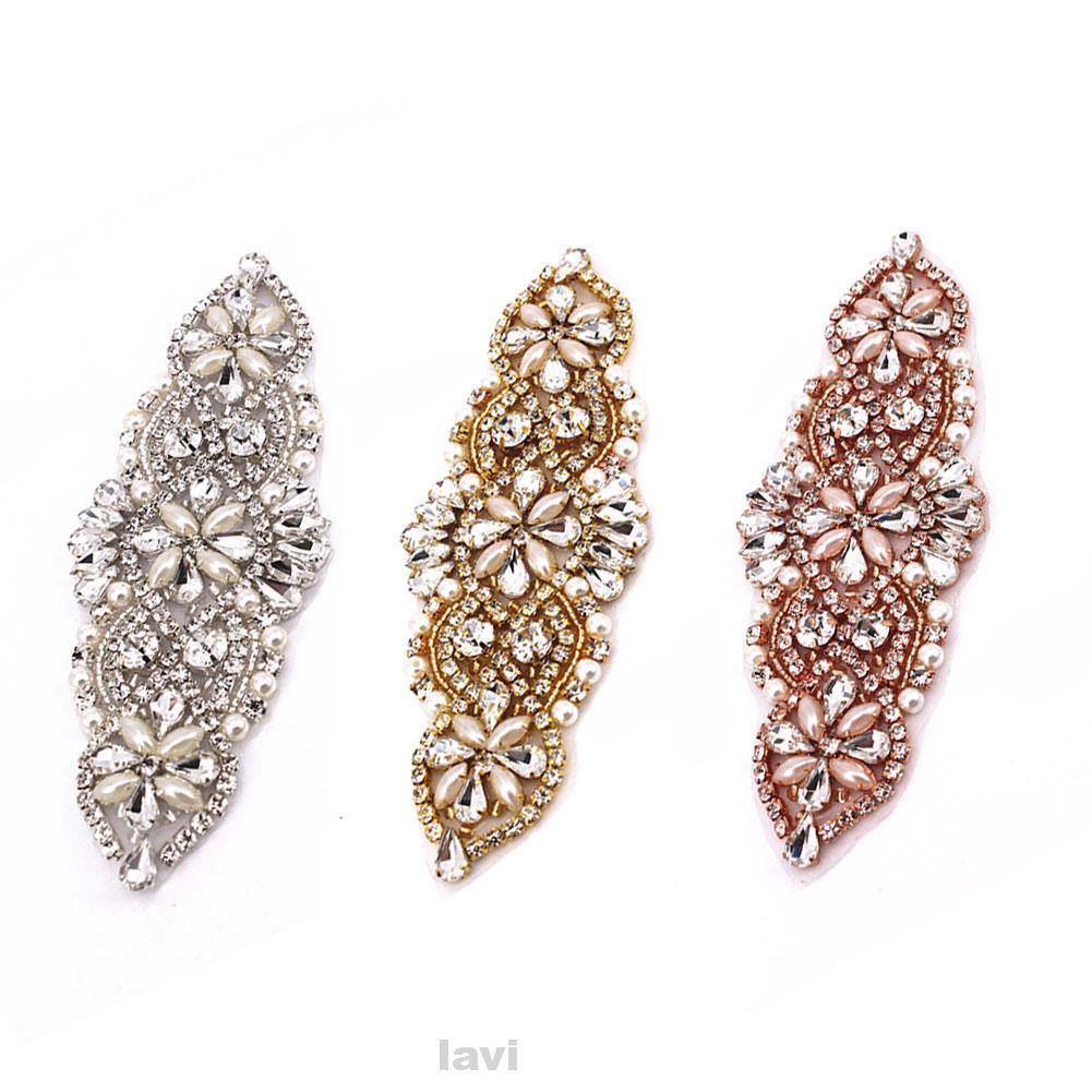 Handmad 20 Color Crystal waist Belt with Beaded Rhinestones Bridal sash