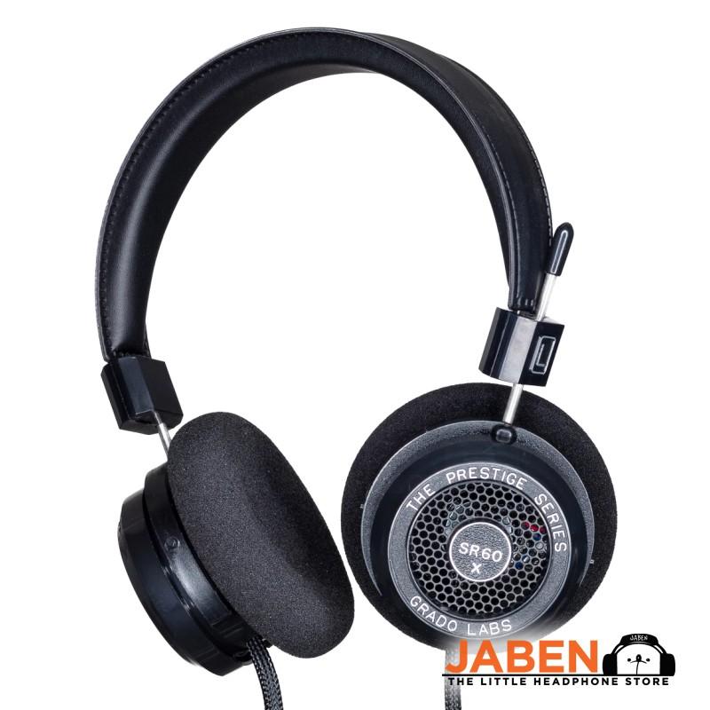 Grado SR60x Made in USA Retro Audiophile Open-Back On-Ear Headphones [Jaben] SR60e