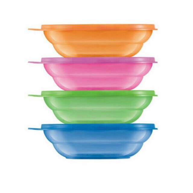 Tupperware Fun Bowls Set (4) 450ml