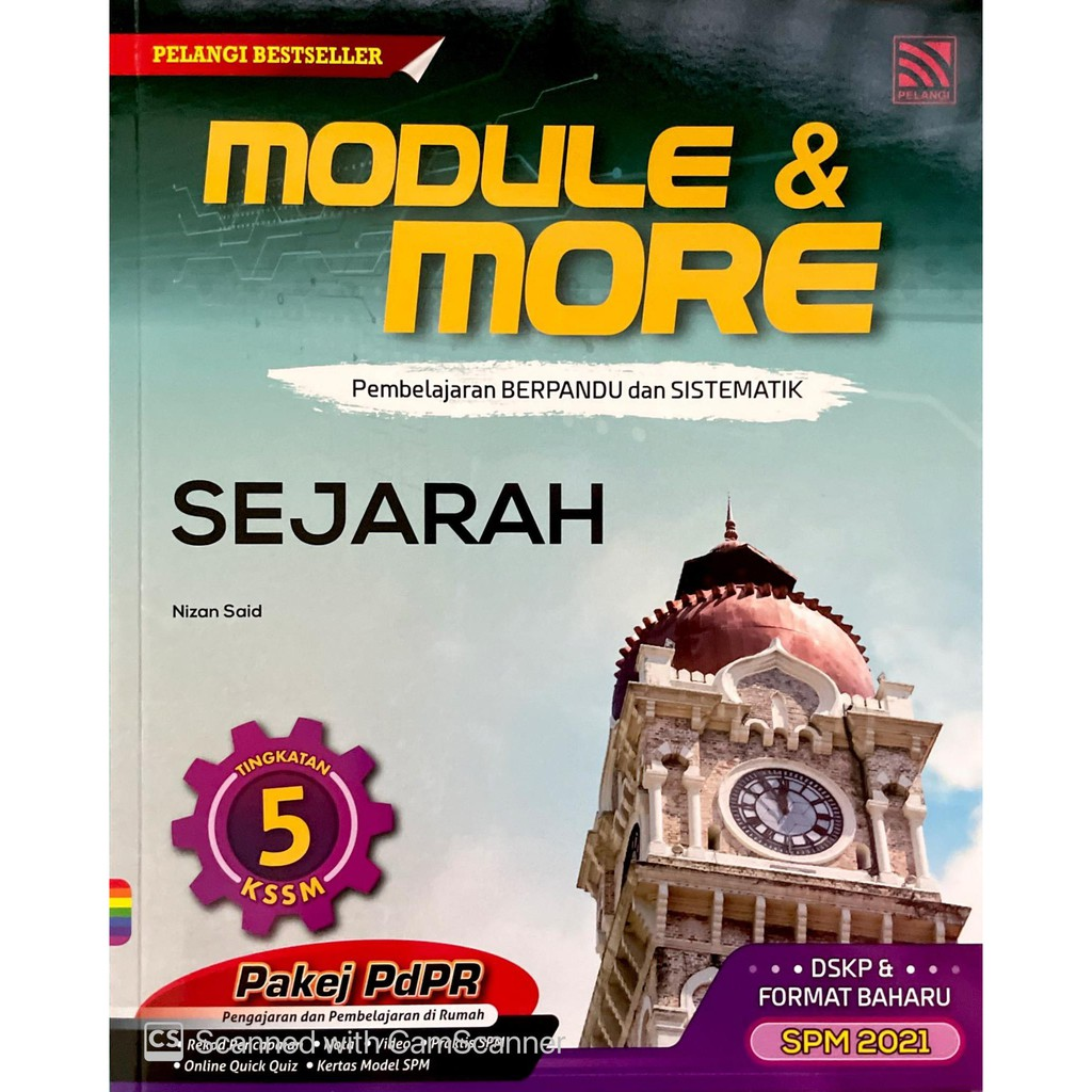 PELANGI MODULE & MORE SEJARAH TINGKATAN 5   Shopee Malaysia