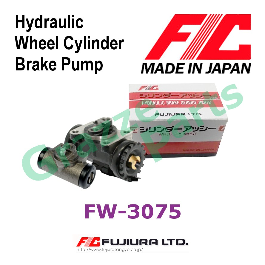 FIC Made in Japan Brake Pump Wheel Cylinder Rear LH FW3075 for Ford Maxi E1400 E1800 - 11/16""