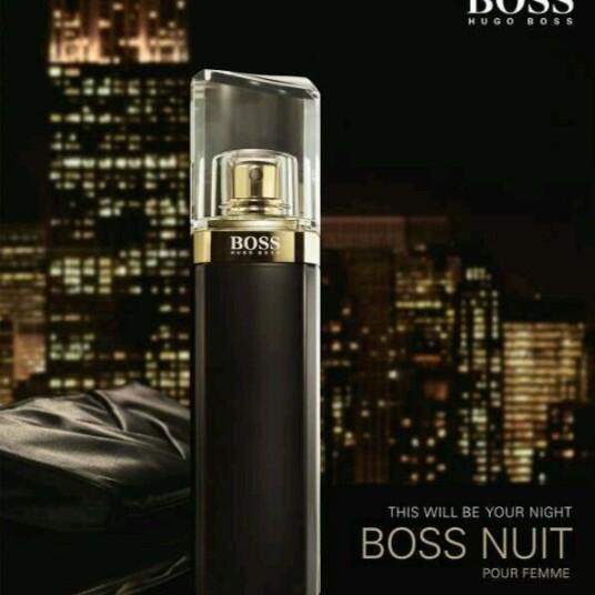 e67bd9739f Hugo Boss Boss Nuit Pour Femme Intense 75ml Eau De Parfum Spray For Women |  Shopee Malaysia