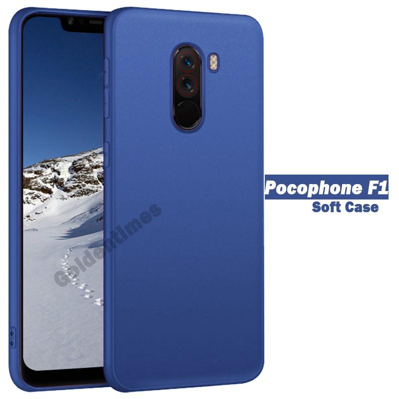 promo code 3372f d61d4 Xiaomi Pocophone F1 Case | Soft Slim Matte Casing for POCO F1 Soft Back  Cover