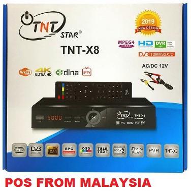 Original TNT Star Combo S2/T2/C COMBO SET TOP BOX TV receiver ninmedia mytv