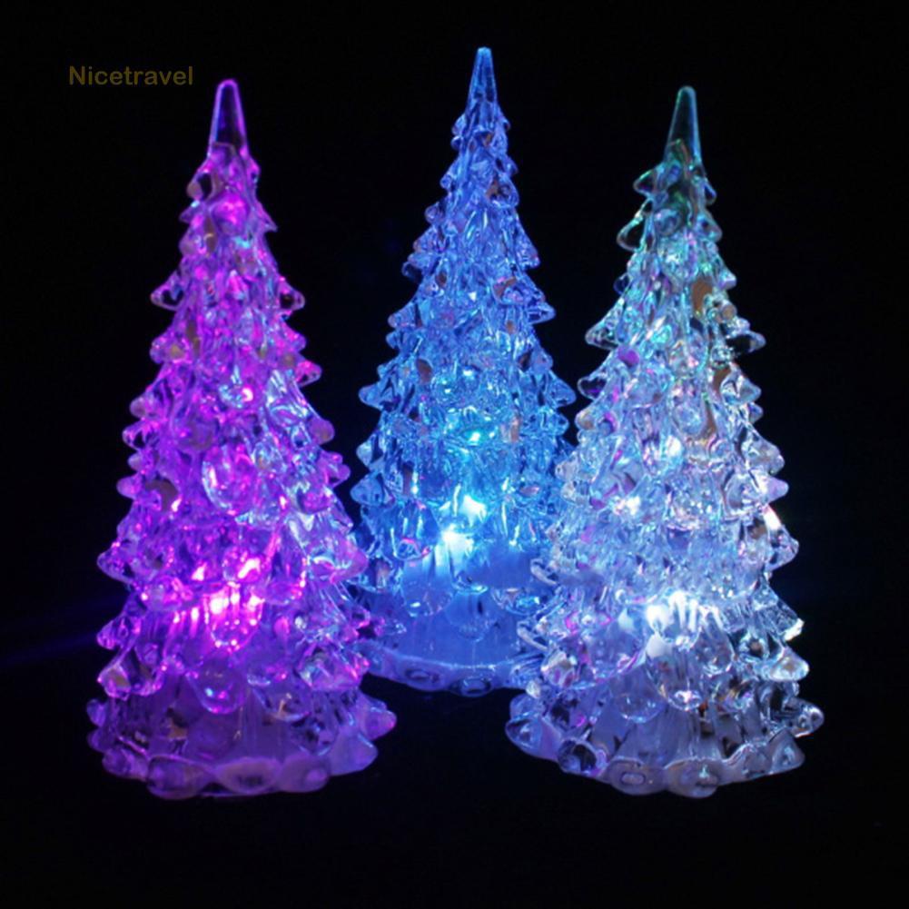 Color Changing Christmas Lights.Nice Fashion Color Changing Christmas Tree Ation Night Light Lamp Xmas Gift