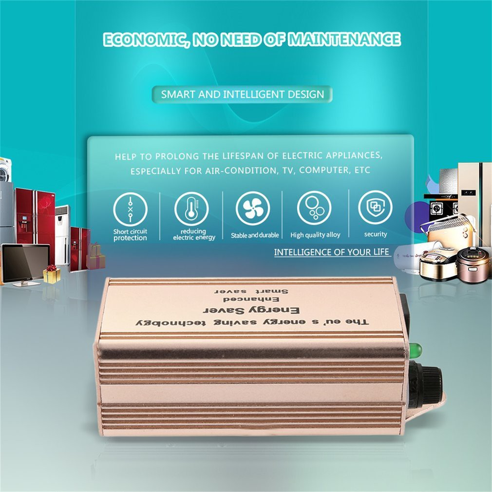 Enhanced Energy Saver Intelligent Home Commercial Electricity Circuit Saving Box Shopee Malaysia