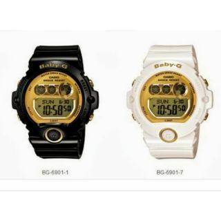 cfc747455bf2 CASIO BABY-G BG-6901-7 WHITE GOLD   Shopee Malaysia