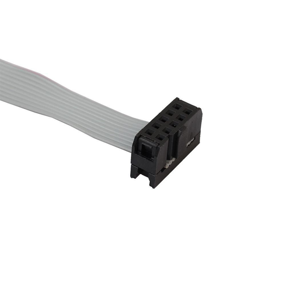 Serial DB9 Male RS232 COM Port to IDC 10pin Cable w// Bracket For PC Motherboard