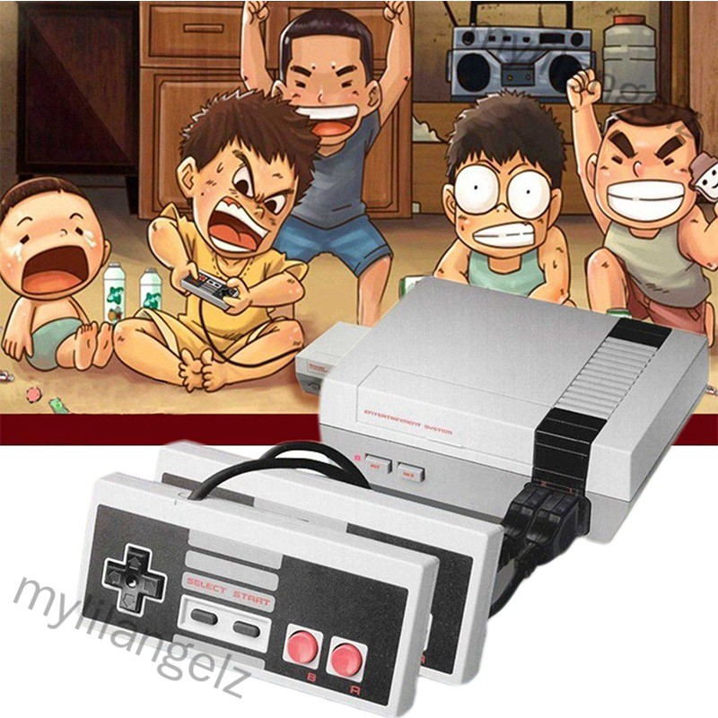 Mylilangelz Classic Mini Game Consoles Built-in 620 TV Video Game With Dual Controllers (READY STOCK)