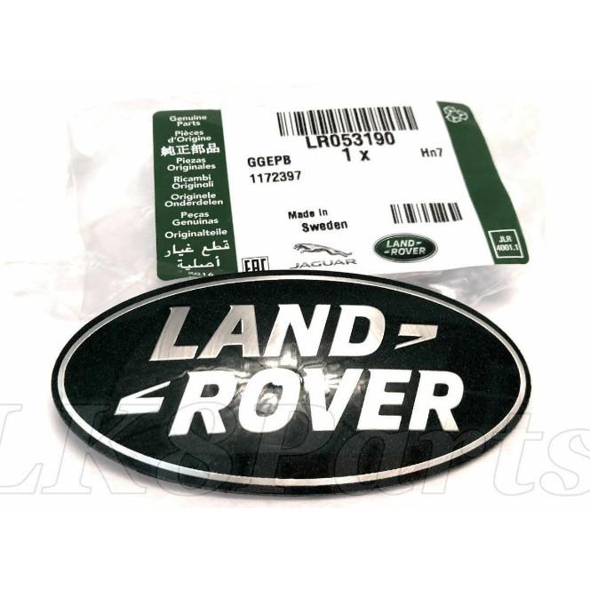 LAND ROVER RANGE ROVER EVOQUE RR SPORT FRONT NAME PLATE BADGE LR053190 GENUINE