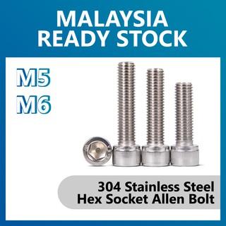 DIN 912 M16-2.0 X 60mm 18-8 2 pcs AISI 304 Stainless Steel Aspen Fasteners Hex Socket Drive Metric Socket Head Cap Screws
