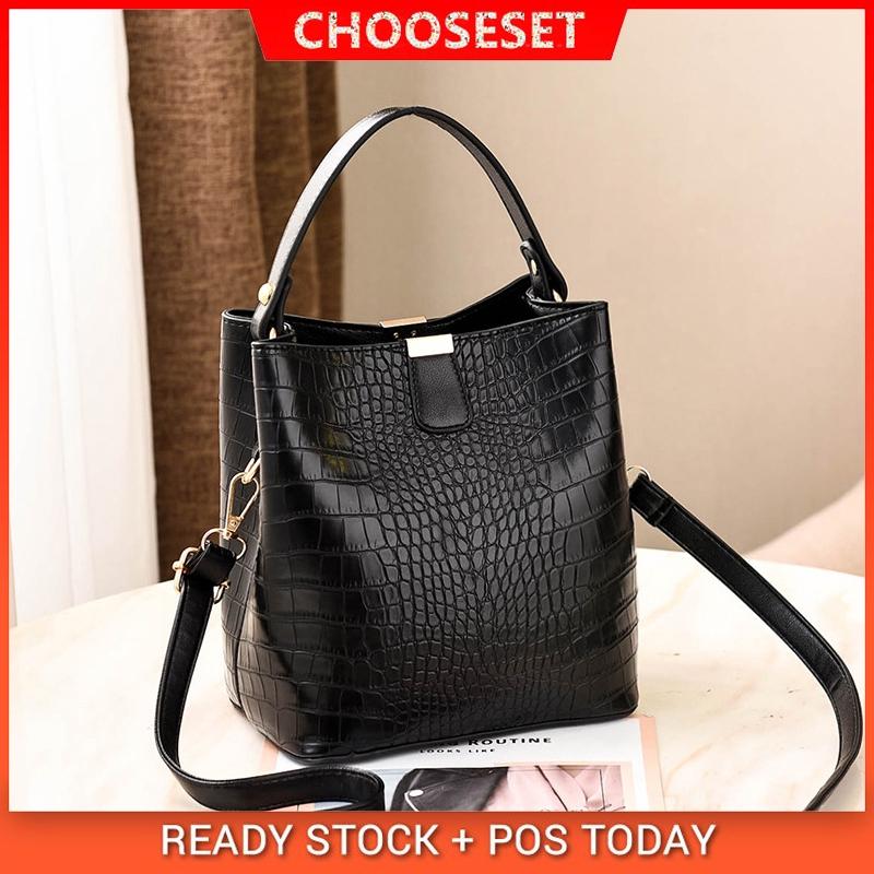 02f9c9006453 Ready Stock Fashion Women Handbag Bucket Beg Messenger Shoulder Bag for  Women