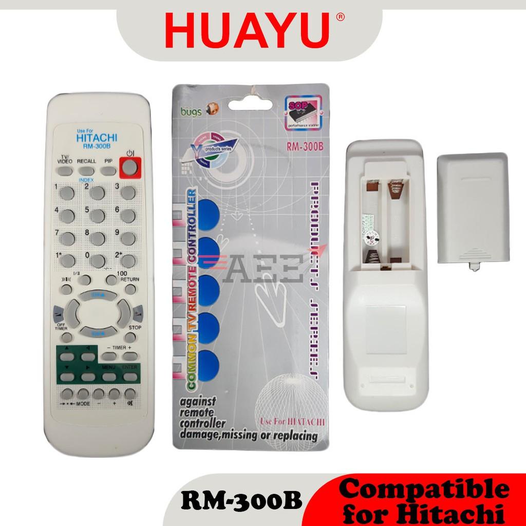 Huayu RM-300B Multi TV Remote Control (Compatible: Hitachi)