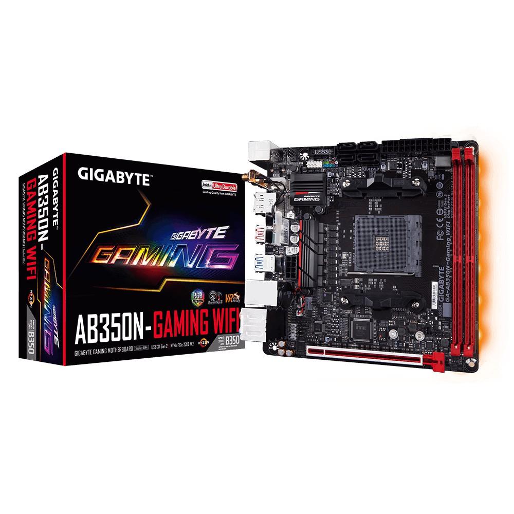 GIGABYTE GA-AB350N-Gaming WIFI (rev  1 0) (AM4) AMD RYZEN MOTHERBOARD