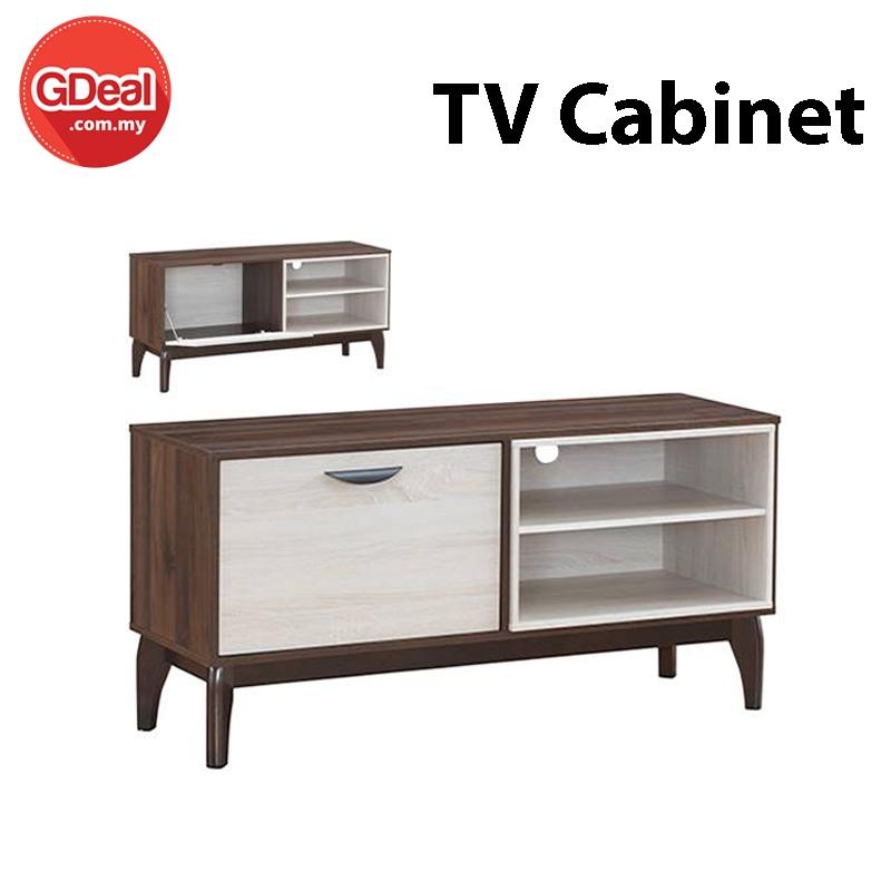 GDeal LF01 Premier Quality Solid Wood TV Cabinet Living Room Furniture (TV-5812)
