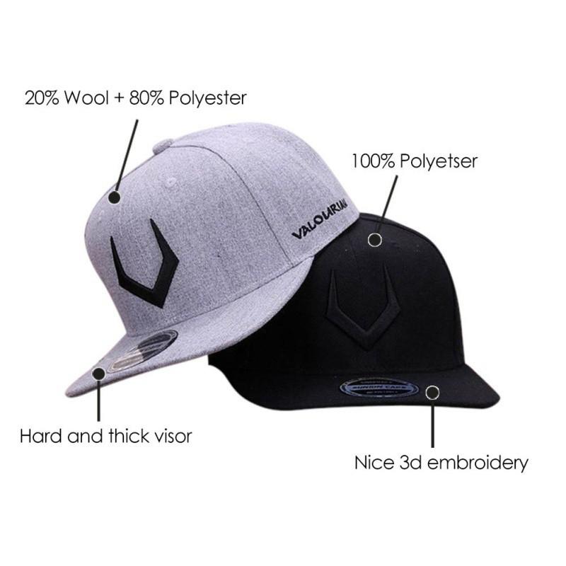 a3bfa2d26 Wool Snapback 3D Pierced Embroidery Hip Hop Cap Flat Bill Baseball Cap Men  Women