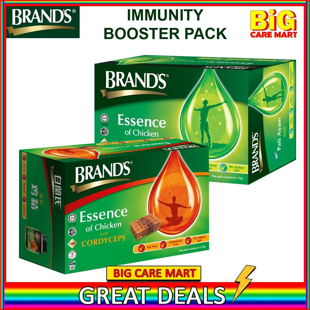 Immunity Booster Brand\'s Essence of Chicken 6s+ Brand\'s Cordyceps 6s