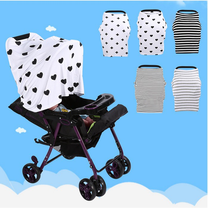 Newborn Infant Nursing Cover Baby Car Seat
