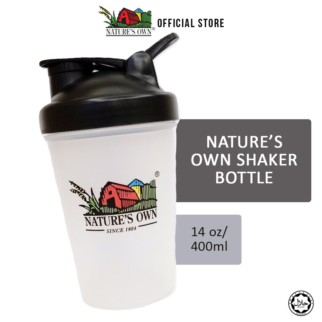 Nature's Own Shaker Bottle (14oz/400ml)