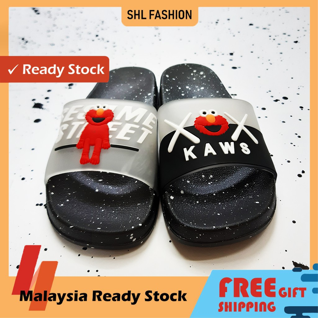 SHL KAWS Design New Couple Sandals / Men and Women Shoes size 36-40【防滑拖鞋】
