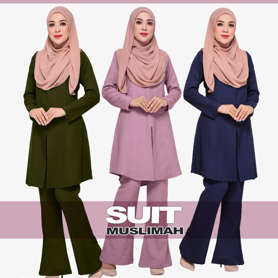 Muslimah Suit  Hot Item stock completely ready 😍Sale Offers