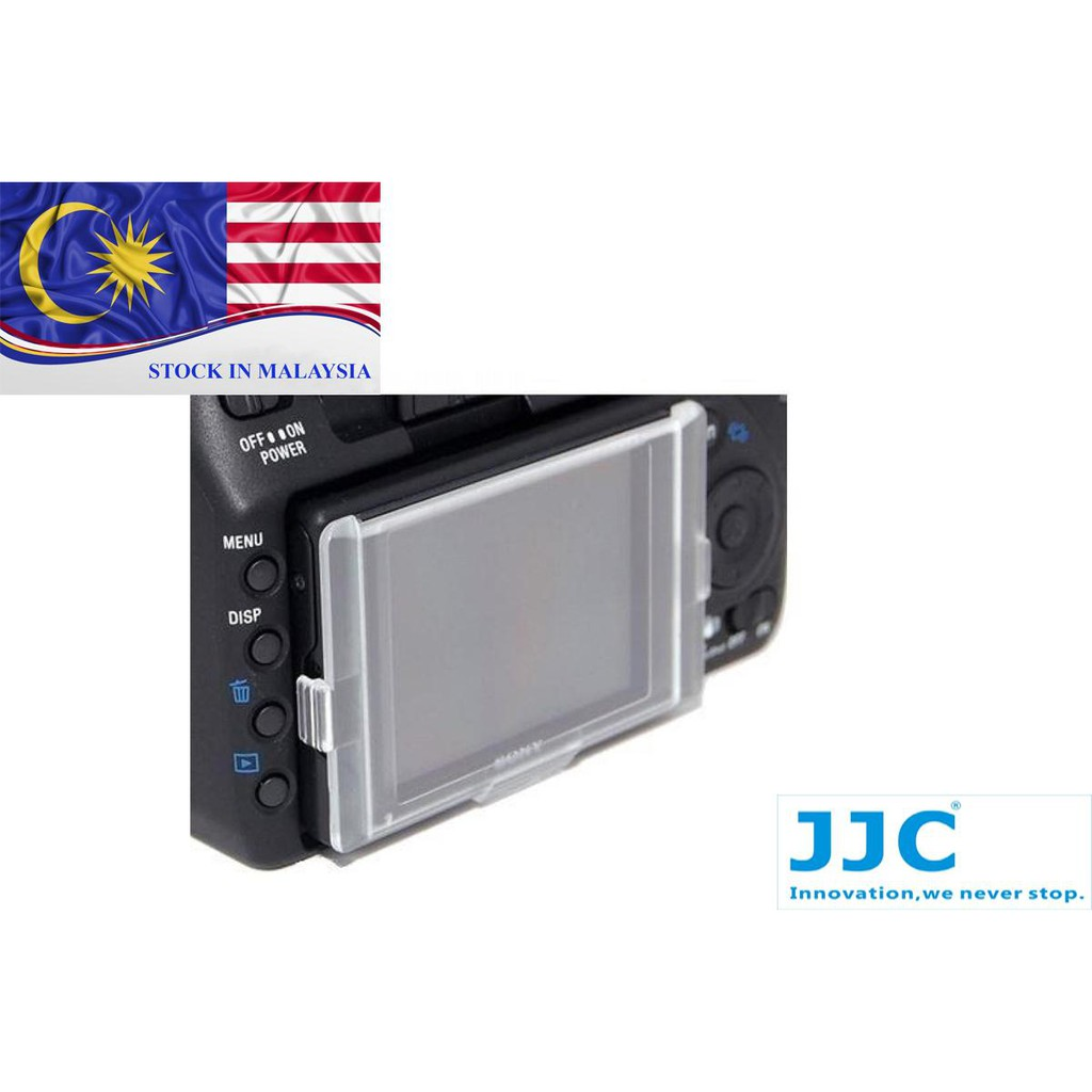 JJC LA-A300 replaces SONY ALPHA PCK-LH5AM LCD screen cover (Ready Stock In Malaysia)