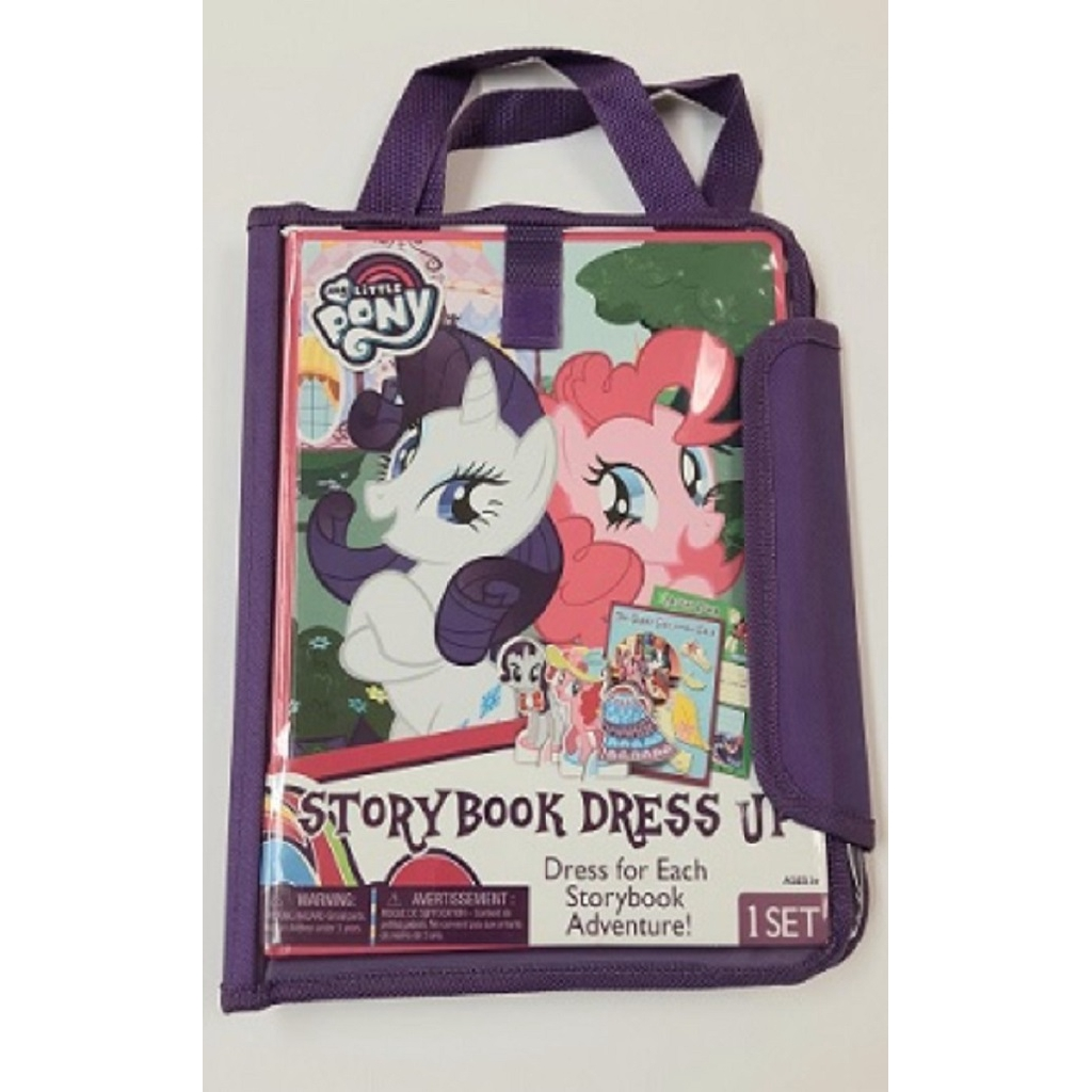 Wooden Storybook Dress-up Tote My Little Pony (2017) ISBN: 9781505052268 (MPH)