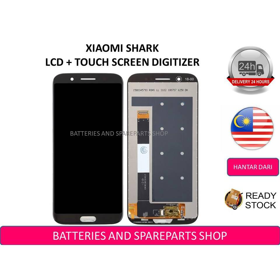 BSS Xiaomi Black Shark Lcd + Touch Screen Digitizer Sparepart
