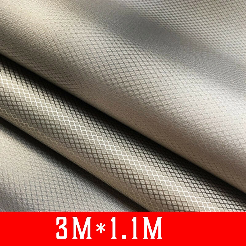 Copper Shielding fabric Nickel Polyester 1pc 1.1*1m RFID One-sided Conductive