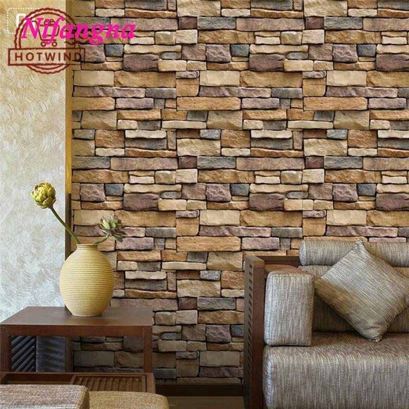 90Pcs Self-adhesive 3D Tiles Brick Wall Sticker Kit Kitchen Bathroom Art Decal