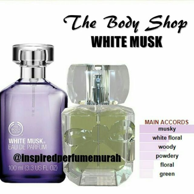 Shop White Inspired Musk Perfume Body The Edp SzUpMqV
