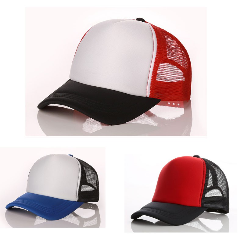 c1be5c0a Fashion net hat outdoor fishing baseball cap sports leisure cap | Shopee  Malaysia