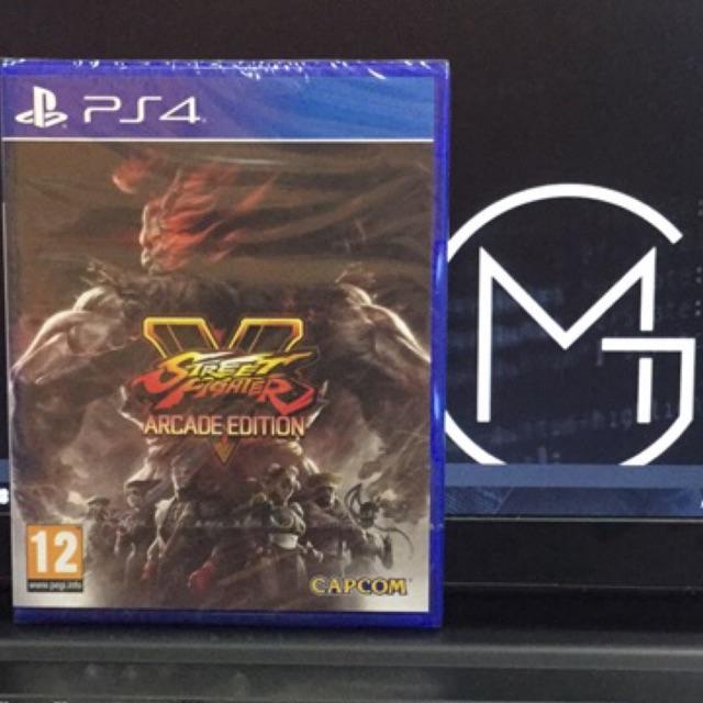 Ps4 - Street Fighter V Arcade Edition (R2/R3)