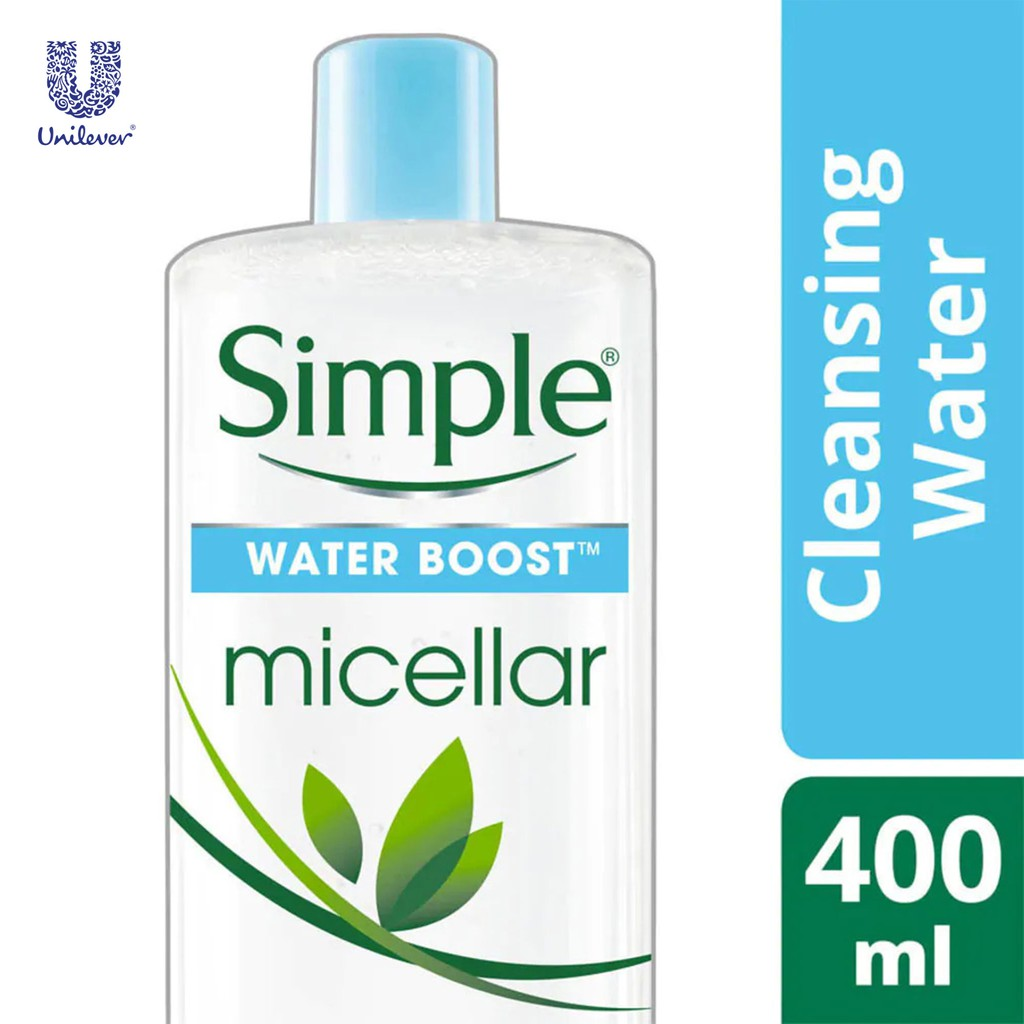 Simple Water Boost Micellar Cleansing Water 400ml
