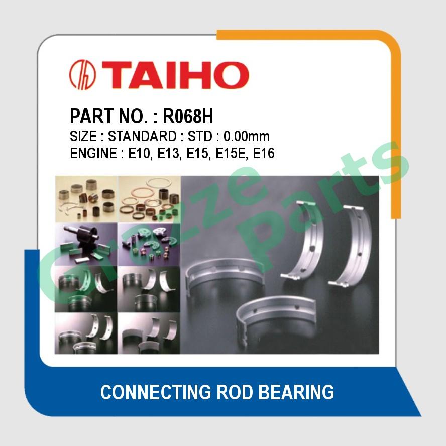 Taiho Con Rod Bearing STD Size R068H for Nissan Sunny 130Y E10 E13 E15 E15E E16