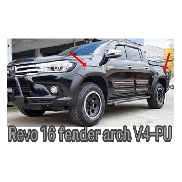 Toyota Hilux Revo rocco Big Fender Arch V4