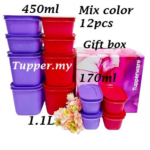 *4/6/8/12pcs*Tupperware Chill-Freez freezer & chill freez FM Freezermate snowflake with/without Gift Box