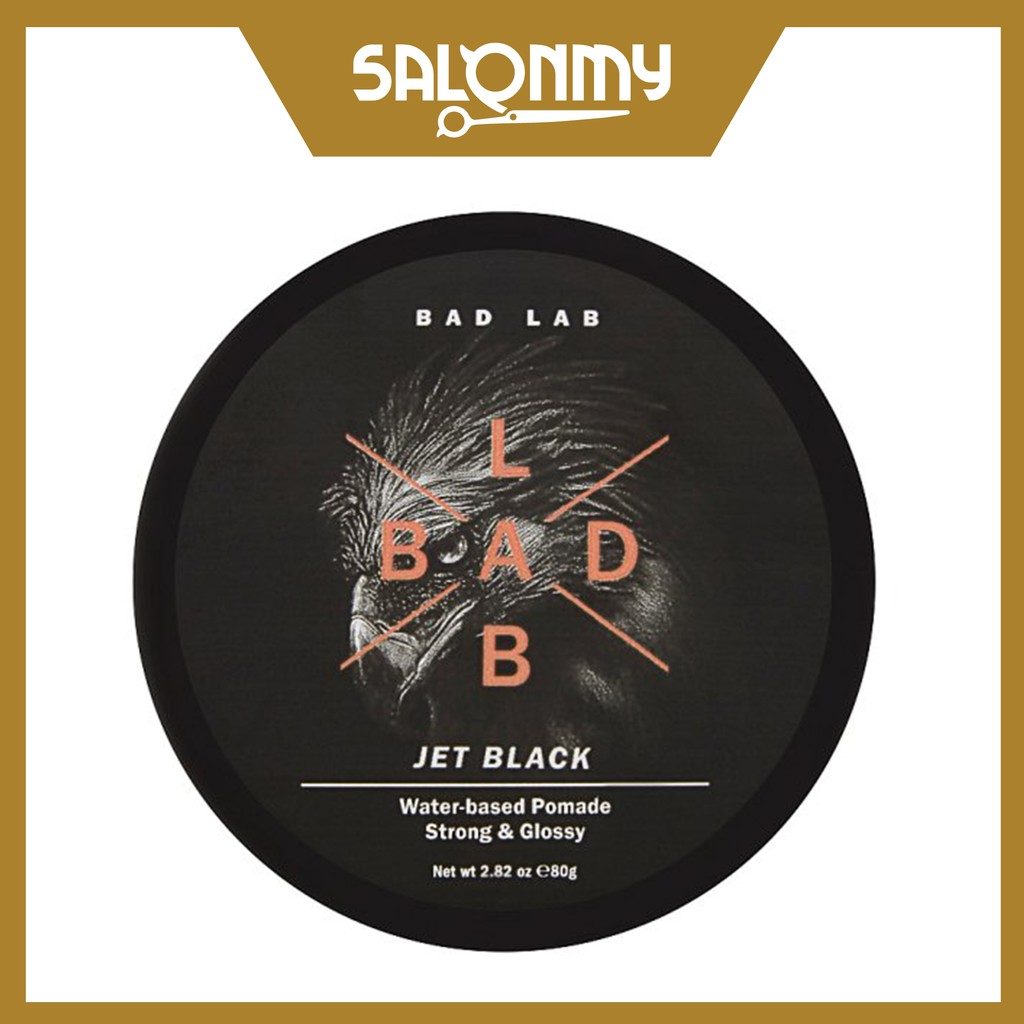 Bad Lab Water-based Pomade, Strong & Glossy