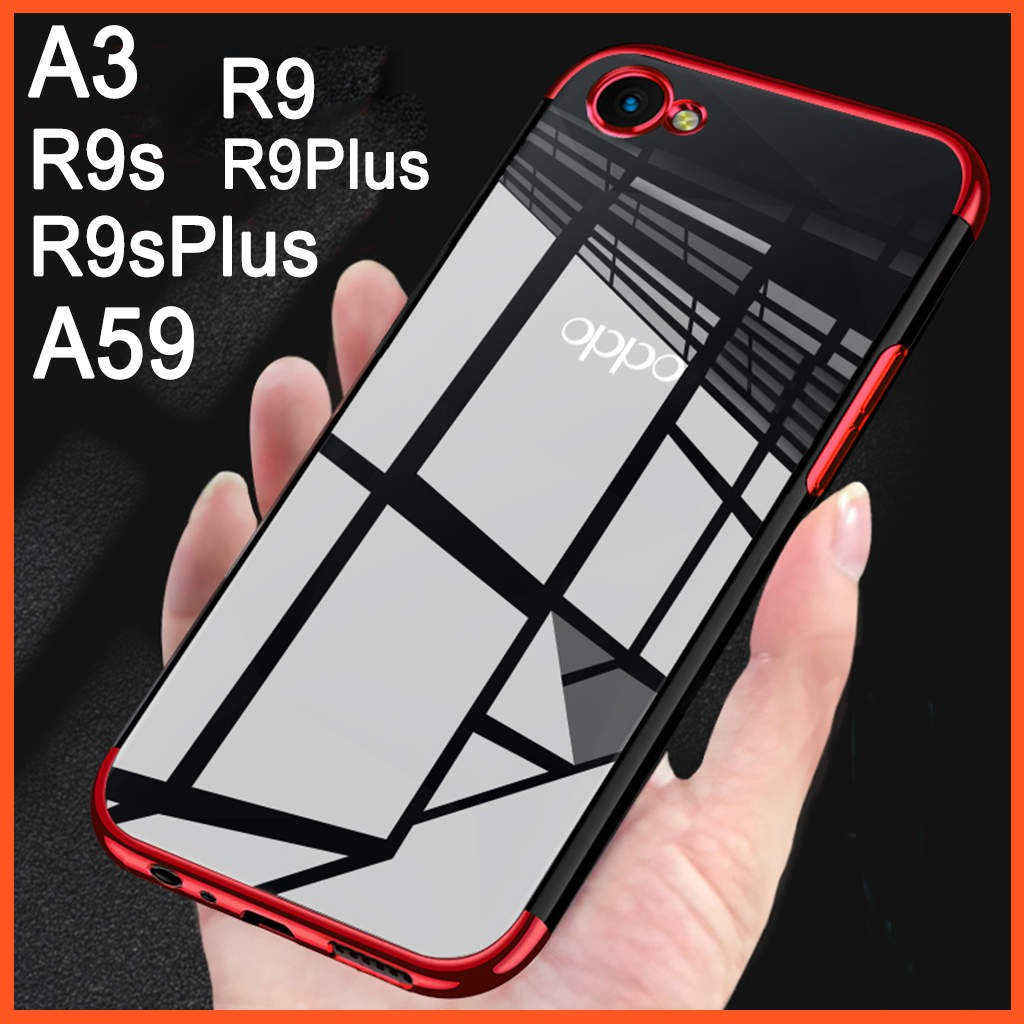 Oppo R9/R9 plus/R9S Double View Flip Cover Clear View phone Case | Shopee Malaysia