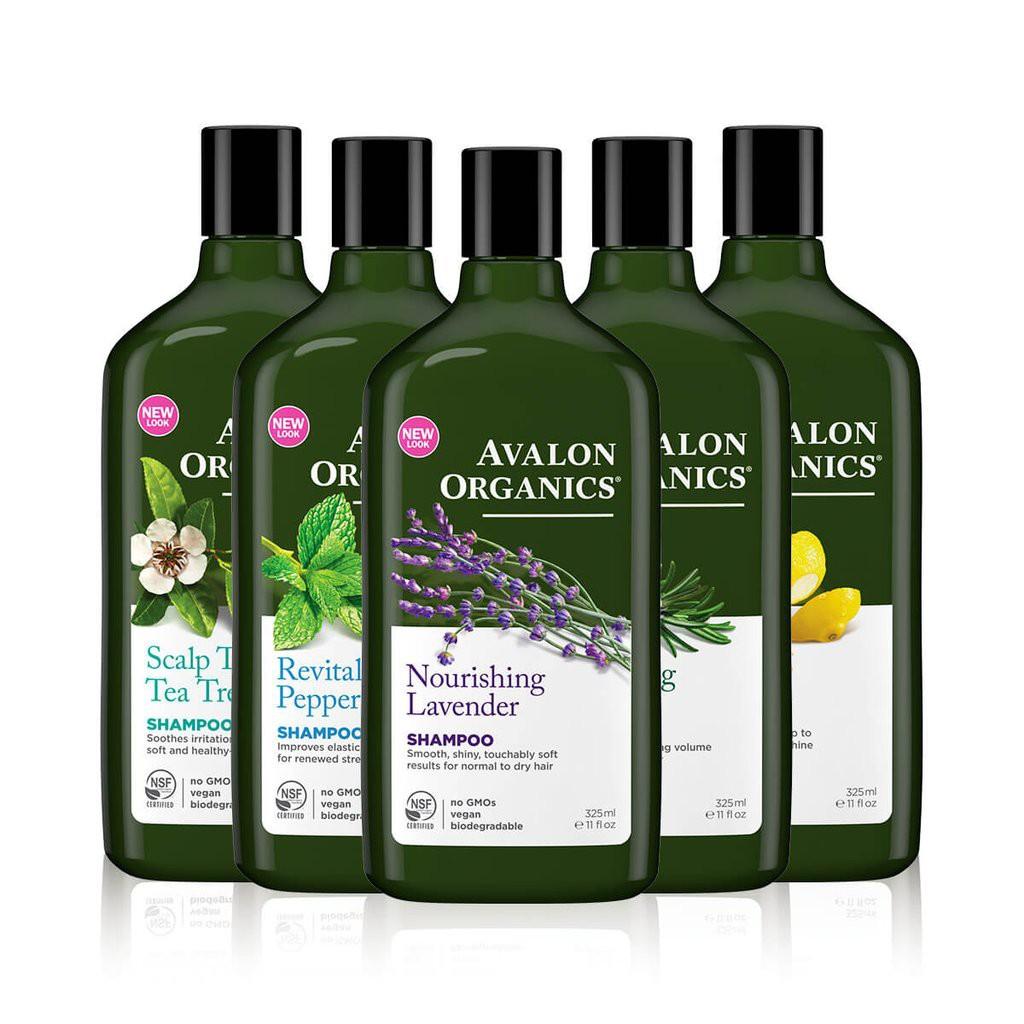 Avalon Organics Shampoo 325ml (All Variants) [Ready Stock]
