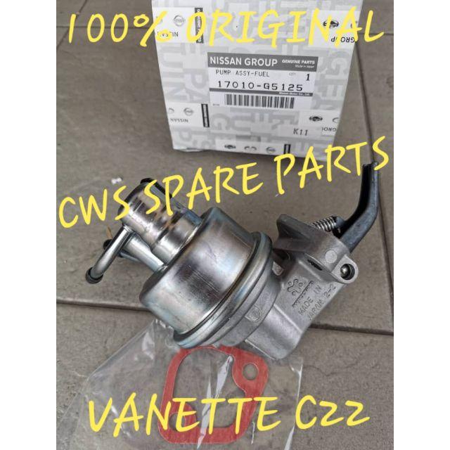 NISSAN VANETTE C22 1988-2011 AC FUEL PUMP 100% ORIGINAL 17010-G5125